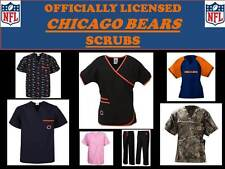 Chicago Bears Scrub Top-Chicago Bears Scrub Pants-Chicago Bears Nfl Scrubs