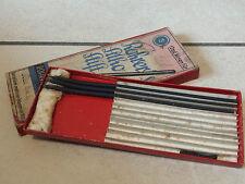 Boîte mines pencil crayon ROHRER litho stift plume pen graphic écriture writing