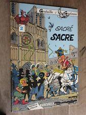GODAILLE et GODASSE SANDRON et CAUVIN N°2 SACRE SACRE EO 1983