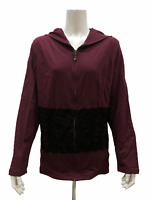 Belle by Kim Gravel Curvallusion Zip Front Jacket with Lace X-Large Size