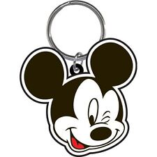 Disney Mickey Mouse Smile Wink Lasercut Key Ring Chain Keychain Keyring