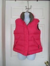Nike Reversible Pink Down Filled Puffer Vest Size S 4-6