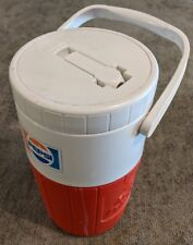 "Vintage 1980s PIZZA HUT / PEPSI ""Relief Pitcher"" Coleman Cooler Jug Thermos!"