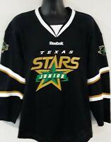 Reebok Dallas Texas Stars Junior Hockey Jersey Adult Medium EUC NHL