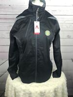 NWT Oakland A's Small Antigua Womens Desert Dry Xtralite Full Zip Black Jacket