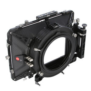 "JTZ DP30 Cine Carbon Fiber 5.65x5.65""Matte Box 15mm/19mm For Sony ARRI RED CANON"