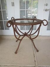 Bronze Wrought Iron Coffee Table Base