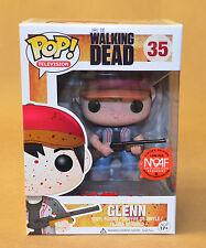 Man Of Action Figures Exclusive Moaf Walking Dead Bloody Glenn Pop Funko