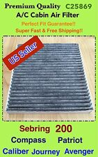 Carbon Cabin Filter for Sebring 200 Adventure Caliber Journey Compass Patriot