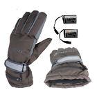 Heated Gloves Rechargeable Battery Men Women Thermal Winter Electric Heat Warm