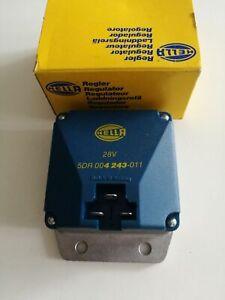 Hella Lichtmaschinenregler 5DR004243-011 Alternator regulator Regler 28V Hybrid