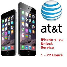 iPhone 7 7+ AT&T FACTORY UNLOCK CODE SERVICE - 100% GUARANTEE CLEAN IMEI FAST