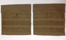 EAGLE INDUSTRIES COYOTE SIDE PLATE POCKET CARRIER SPC SET SPP MOLLE USGI NEW