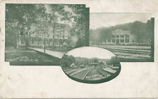 Ohiopyle PA * B&O RR Station and Hotels 1910 * Fayette Co. Uniontown