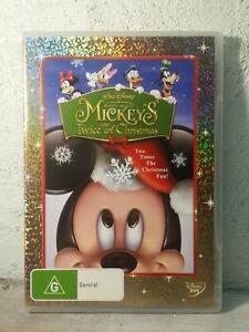 Mickey Mouse Twice Upon a Christmas DVD - KIDS DISNEY MOVIE - Region 4