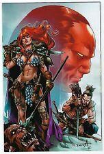 Red Sonja Birth Of A She Devil # 4 Davila 1:10 Virgin Dynamite NM