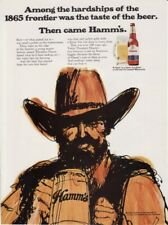 Vintage 1970 Theodore Hamm Brewing Co Hamm's Beer Original Print Ad