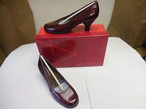 Women's Aerosoles Wise Guy Dress Pumps Dark Red 432 Sizes: 5 1/2 - 7 M