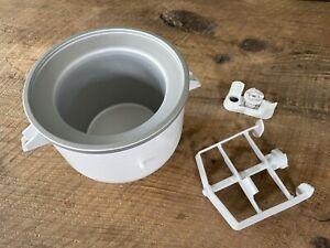 KitchenAid 2 Qt. Ice Cream Maker Paddle and Attachment KICA0WH
