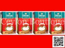 Dilmah English Breakfast Ceylon Tea - 50 Tea bagged X 4 Box 400g