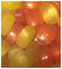 (18,49 €/kg) 1 kg Zuckerfrei Frucht Bonbon Orange-Zitrone von Jahrmarktbonbon