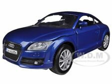 2007 AUDI TT COUPE BLUE 1/24 DIECAST MODEL BY MOTORMAX 73340