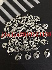 PJ0361 30pc Retro Tibetan Silver heart The lock Jewelry Accessories wholesale