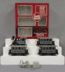 LGB 22301 G Lake George & Boulder G Gauge Steam Train Set/Box