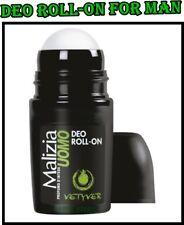 Malizia VETYVER Deo Roll-on  for Men 50 ml Long Freshness