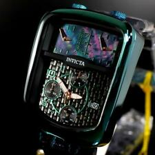Invicta S1 Rally Chonozone Dakar Chronograph Triple Time MOP Green Watch New