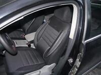 Housses de siège protecteur pour Audi A6 No3 noir-gris