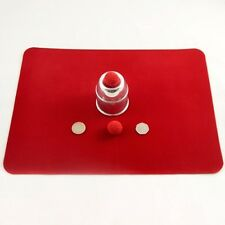 """Close up Mat for Magic by Uday! Red 12.5""""x17"""""""