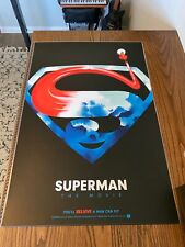 Lyndon Willoughby Superman Limited Edition Sold Out Print Nt Mondo