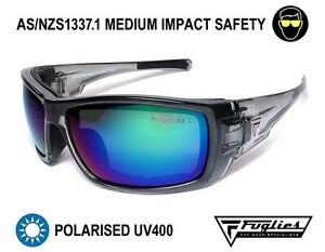 Fuglies PP19 Safety Sunglasses - ASNZS1337 Polarised Tinted Safety Glasses