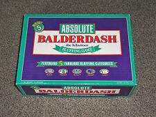 ABSOLUTE BALDERDASH GAME : RARE 1993 EDITION In VGC (FREE UK P&P)