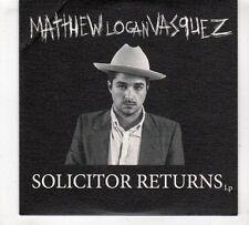 (GX548) Matthew Logan Vasquez, Solicitor Returns - 2016 DJ CD