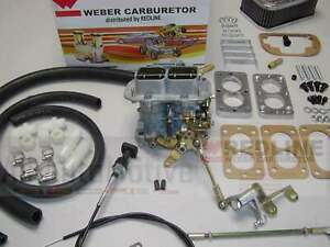 Weber Carburetor Kit Jeep Wrangler & CJ7 4.2 (258) fits 1978-1990 w/Carter 2bbl