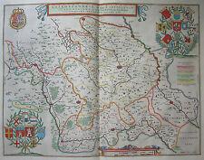 Französisch Flandern / Wallonie - Galloflandria - Willem Janszoon Blaeu 1650