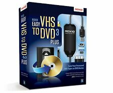 Brand new Sealed Roxio Easy VHS to DVD 3  - VHS to DVD Converter Software