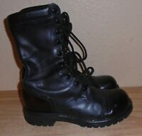 "vintage  Corcoran Leather Field Boots 10"" inch size 8"