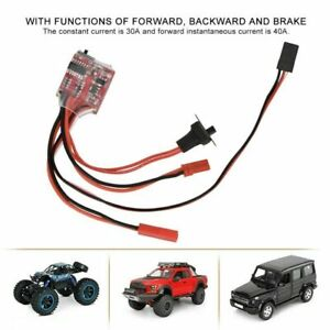 30A Mini Brushed ESC Motor Electronic Speed Controller For RC Car Truck Boat US