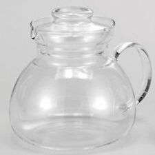 "Bohemia Glaskanne ""Marta"" 1,5 L Glas Teekanne Teebereiter Kaffeekanne Kanne"