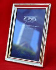 SHUDEHILL SILVER METAL  PHOTO FRAME - UNUSED & PERFECT!