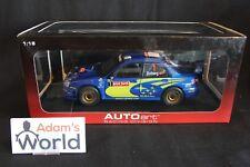 AutoArt Subaru Impreza S10 WRC '04 1:18 #1 Solberg / Mills Rally Japan (JvdM)