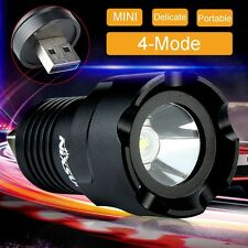 Super Power 2000 Lumen CREE R5 LED USB Flashlight Focus Torch Lamp Light 4 Mode