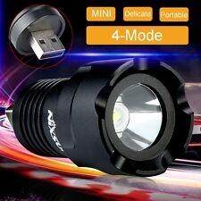 Super Power 2000 Lumen CREE R5 LED USB Flashlight Focus Torch Lamp Light 4 Mode