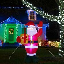 Inflatable Christmas Santa Claus Christmas Decors Xmas Festival Outdoor Ornament