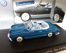 VW Karmann Ghia Cabrio, Tipo 14, blu-verde, 1:43