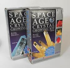 Lot of 2 Space Age Crystal Growing Kits
