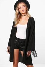 Manteaux et vestes noir en soie pour femme